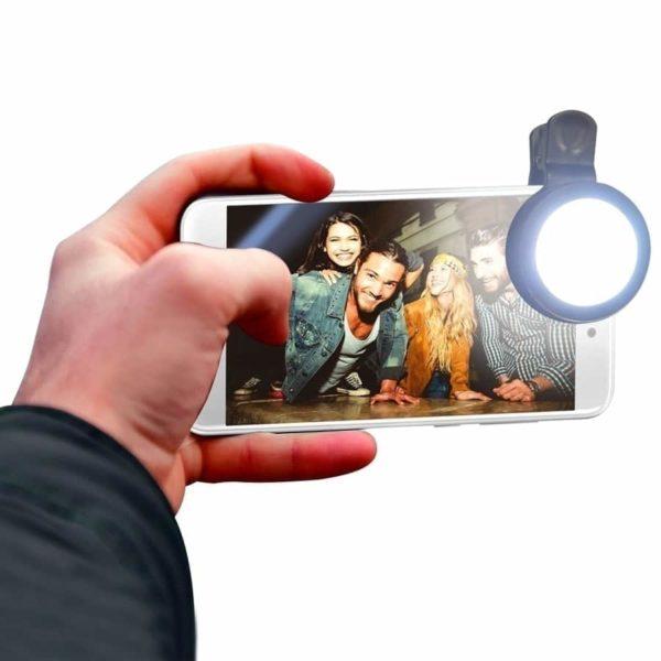 swiss pro selfie light clip