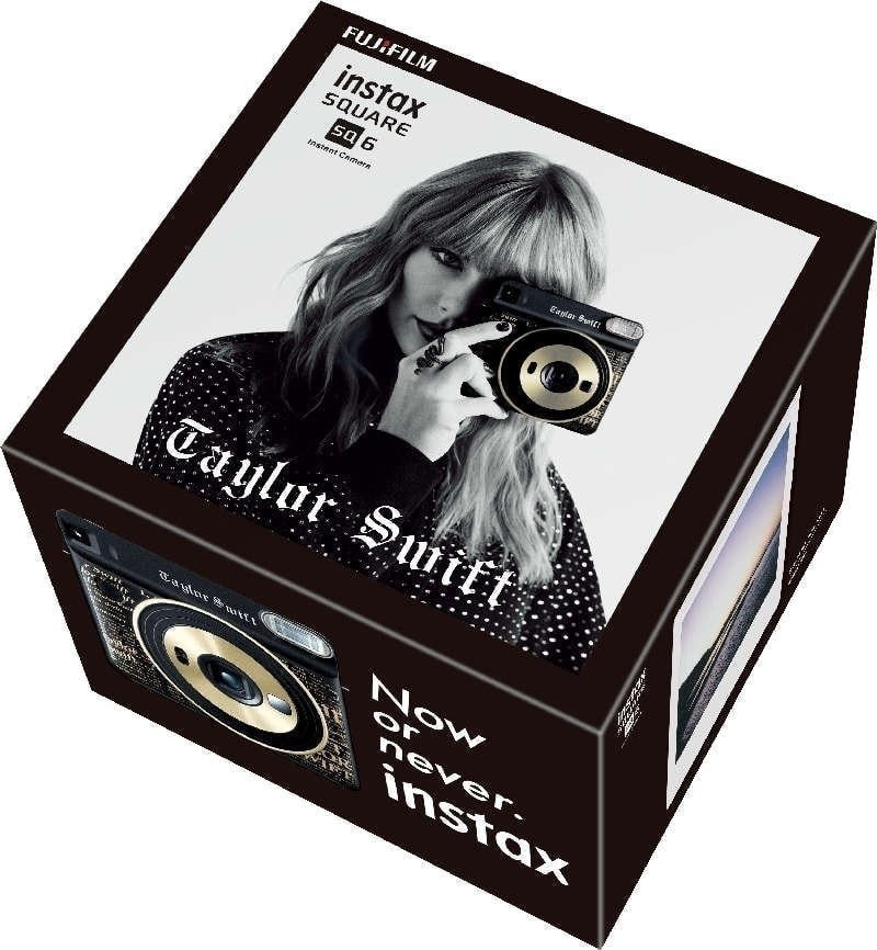 Instax SQUARE SQ6 TAYLOR SWIFT caja