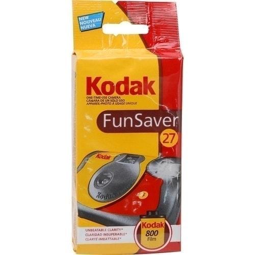 Cámara Un Solo Uso Kodak FUN SAVER con Flash - 27 Exposiciones