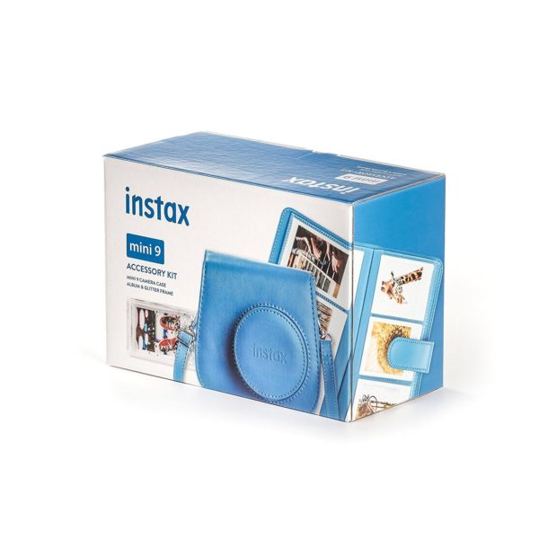 swiss pro kit accesorios para fuji instax mini 9 azulcobalto 2