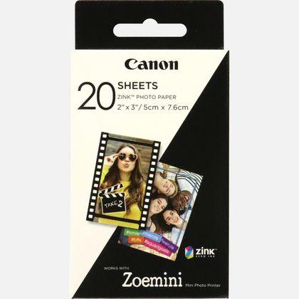 swiss pro papel instant canon zink de 5 x 76 cm 20 hojas