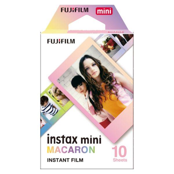 swiss pro pelicula instantanea fuji instax mini macaron ww 1 1x10 fotos