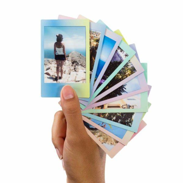 swiss pro pelicula instantanea fuji instax mini macaron ww 1 1x10 fotos 1