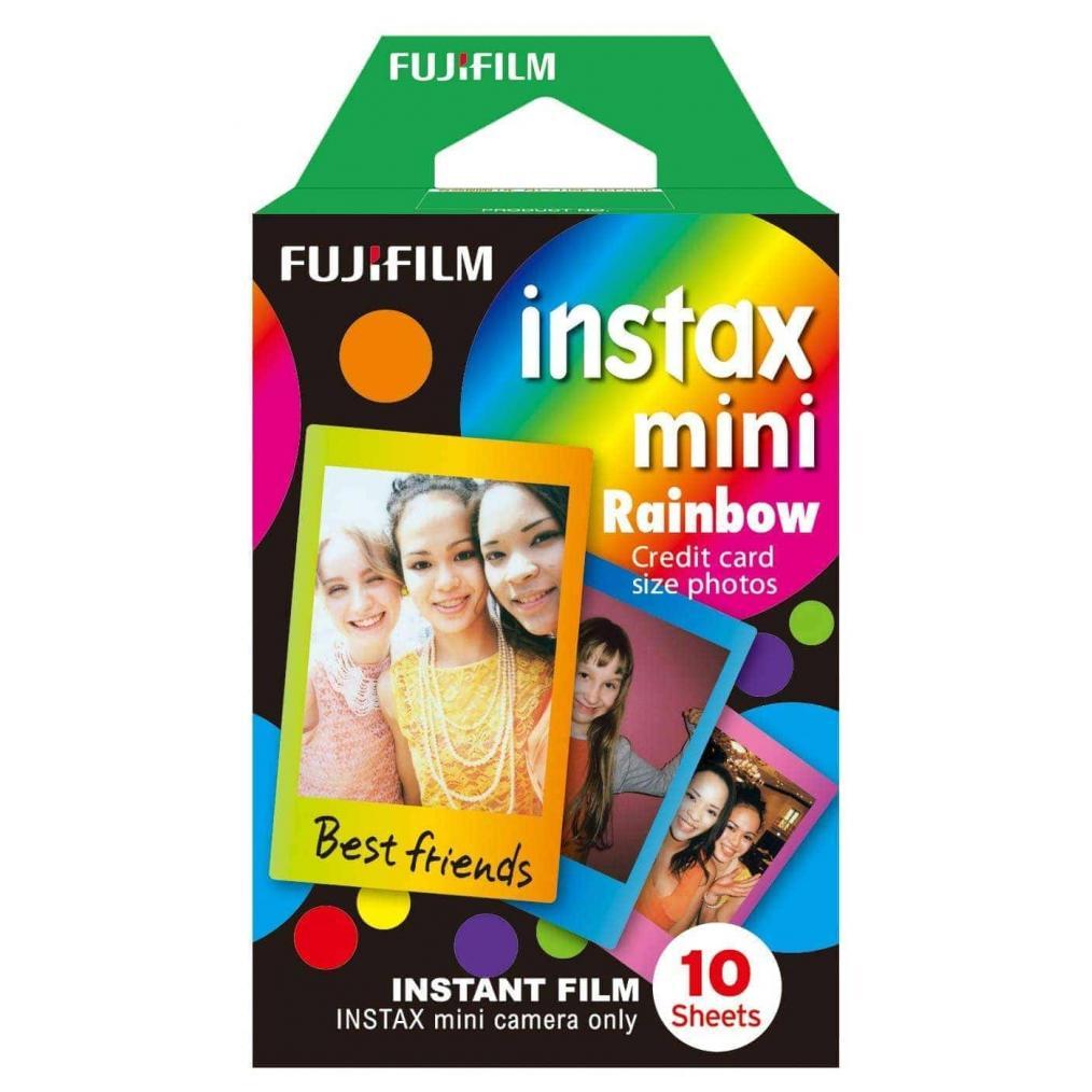 swiss pro pelicula instantanea fuji instax mini rainbow 1x10 fotos 2