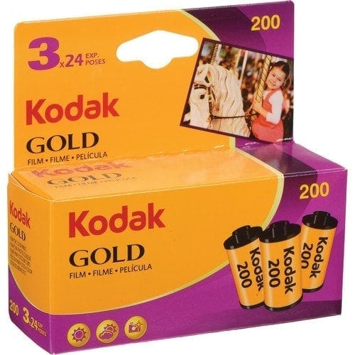 swiss pro pelicula negativo color 35mm kodak gold 200 24 tripack