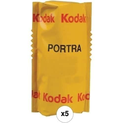 swiss pro pelicula para fotos a color 120 kodak portra 160 paquete de 5 carretes 1