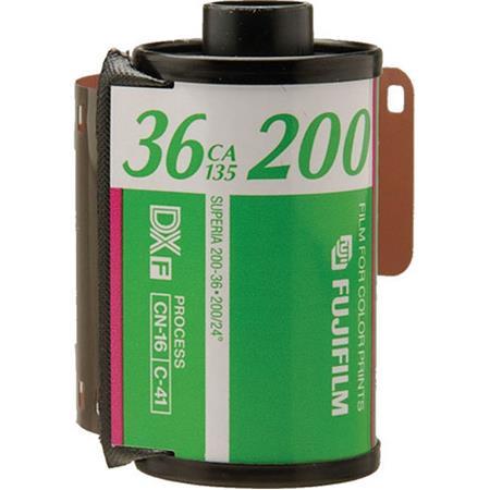 swiss pro pelicula para fotos a color 35mm fujicolor c 200 36