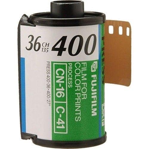 swiss pro pelicula para fotos a color 35mm fujifilm superia x tra 400 135 36 1