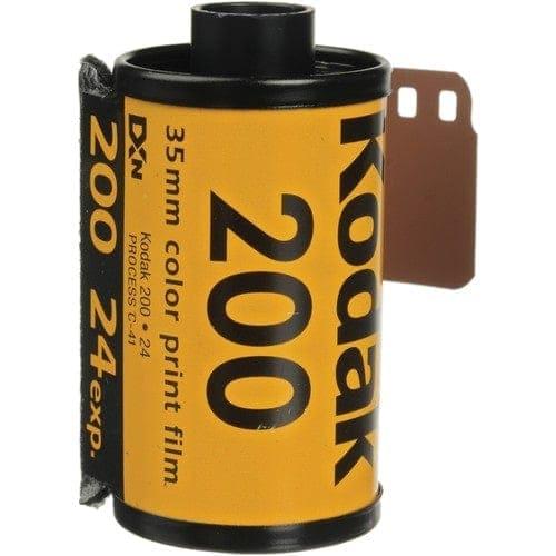 swiss pro pelicula para fotos a color 35mm kodak gold 200 24