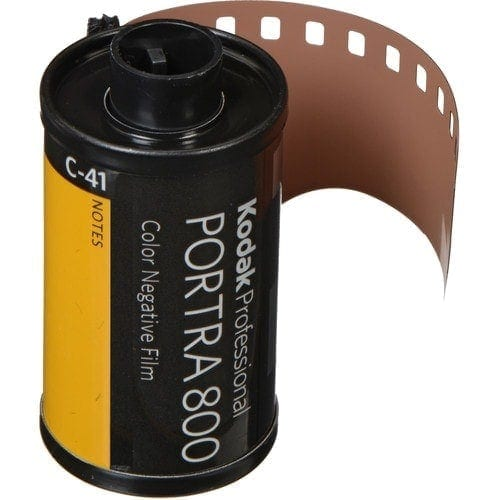 swiss pro pelicula para fotos a color 35mm kodak portra 800 135 36 1
