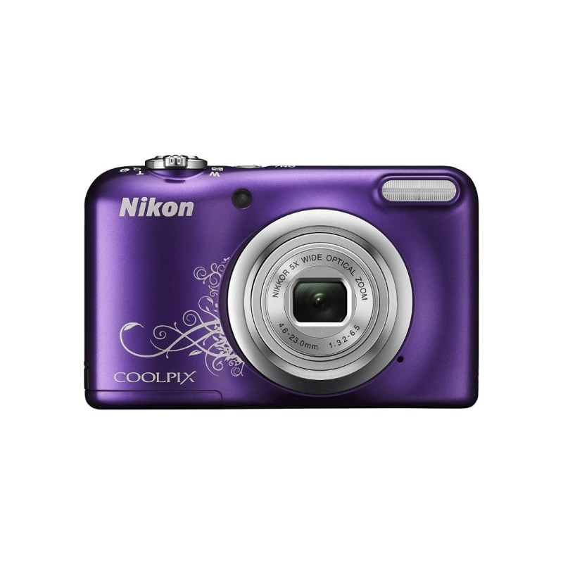 Cámara Nikon CoolPix A10 16.1 MP + funda - Purpura
