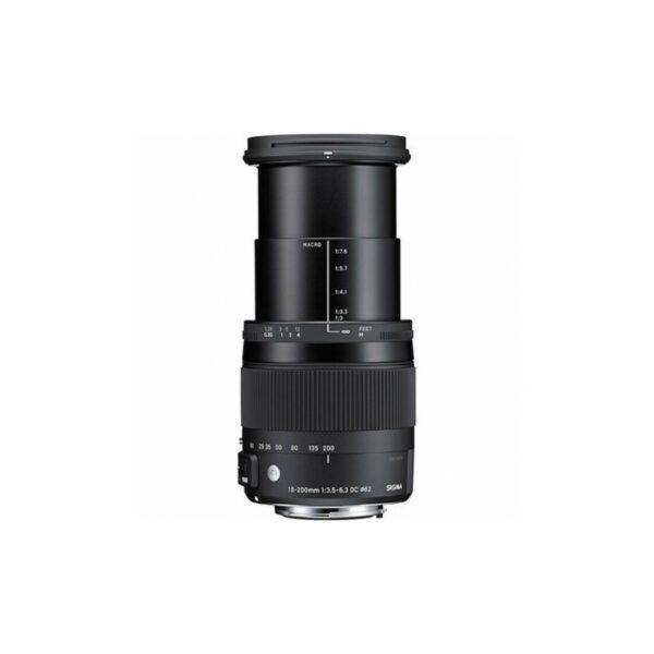 Objetivo SIGMA AF 18-200/3.5-6.3 DC OS HSM CONTEMPORARY   para Canon