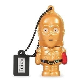 swiss pro Pendrive Usb 16Gb Tribe Star Wars C 3PO red arm