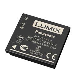 swiss pro bateria bck7e 3.6v 680mah panasonic