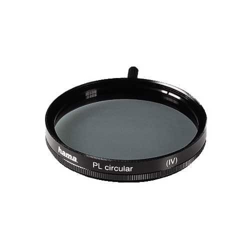 swiss pro filtro circular polarizador 58mm hama