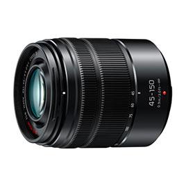 swiss pro objetivo panasonic 45 150mm f4.0 5.6 52mm telefoto zoom negro
