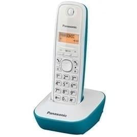 swiss pro telefono inalambrico panasonic tg1611 blanco con base