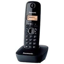 swiss pro telefono inalambrico panasonic tg1611 negro con base