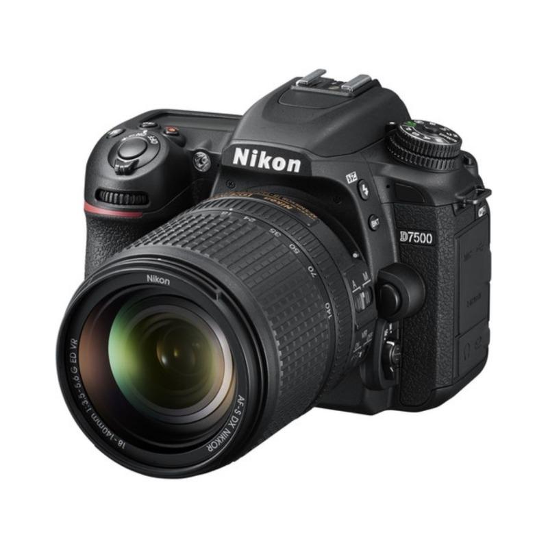 Cámara Reflex Nikon D7500 Objetivo Afs Dx 18/140 G VR SD2