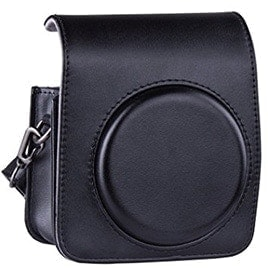 swiss pro bolso fuji para instax mini 90 negra