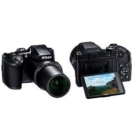 swiss pro camara bridge nikon coolpix b500 negra
