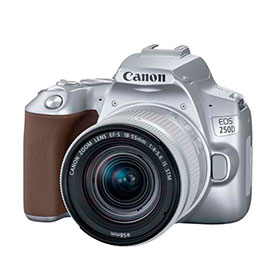 swiss pro camara reflex canon eos 250d ef s 18 55mm f4 5.6 is stm plata