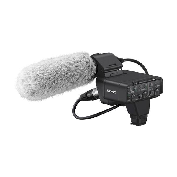 swiss pro interfaz sony xlr k3m audio kit adaptador