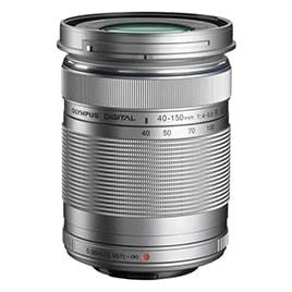 swiss pro objetivo olympus m.zuiko digital 40 150mm ii r plata