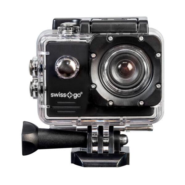 swisspro camara video aventura swissgo sg 1 8w fullhd wi fi negra con accesorios 0000 SG1.8WN