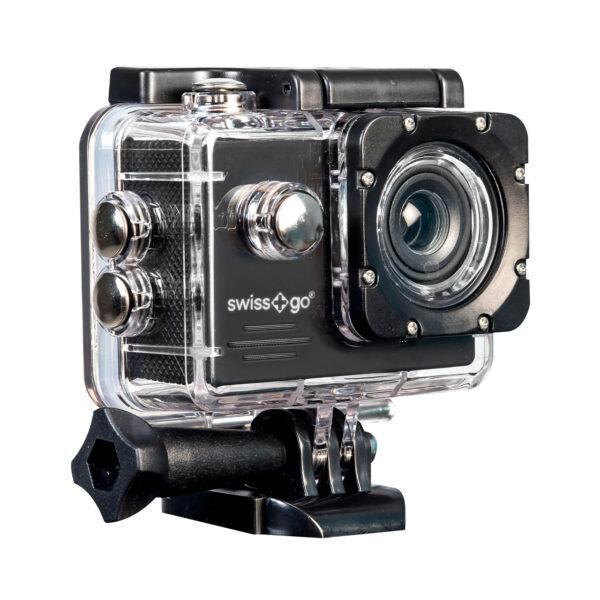 swisspro camara video aventura swissgo sg 1 8w fullhd wi fi negra con accesorios 0001 SG1.8WN