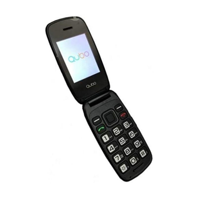 swisspro telefono movil qubo neo 2 dual sim negro con base de carga