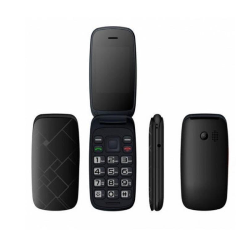swisspro telefono movil qubo neo 2 dual sim negro con base de carga 2