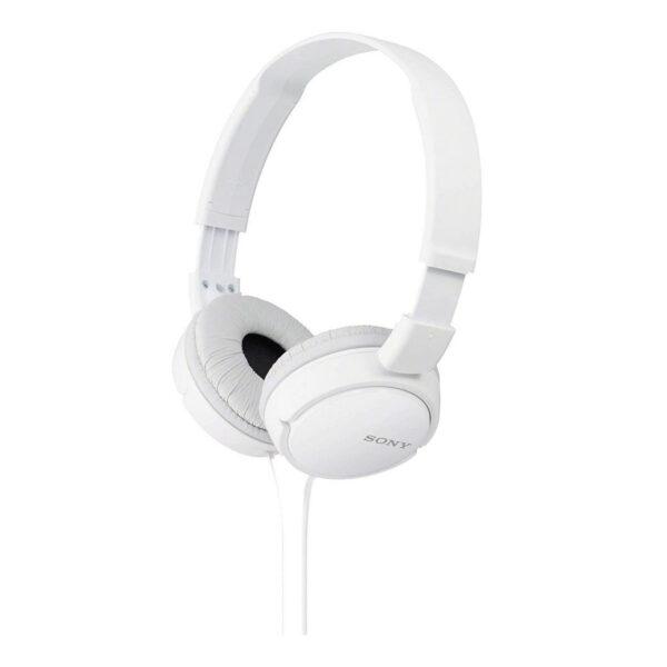 Auricular - Sony MDR-ZX110 Blanco 12Hz-22kHz, 24 ohmios, cable 1,2 mts