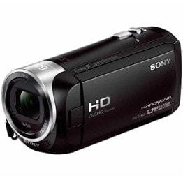 swiss pro camara video sony handycam flash hdr cx405 negra