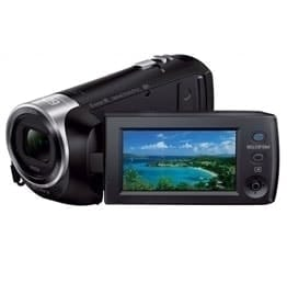 swiss pro camara video sony handycam flash hdr pj410 negra con proyector