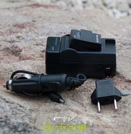 swiss pro cargador baterias action outdoor pared y coche