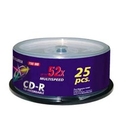 swiss pro cd r 700 mb 52x lata 25 u. fuji