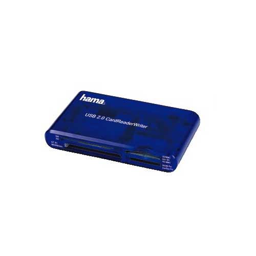swiss pro lector tarjetas memoria hama 30 en 1 usb 2.0
