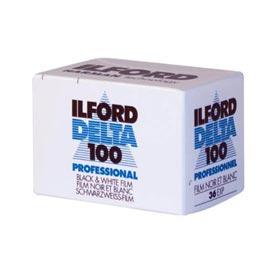 swiss pro pelicula blanco y negro 35mm ilford dp100 delta 100 36