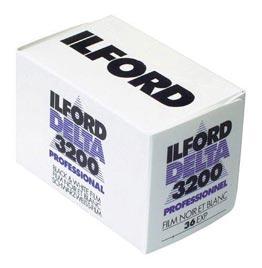 swiss pro pelicula blanco y negro 35mm ilford dp3200 delta 3200 36