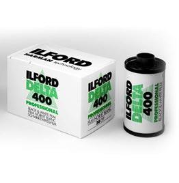 swiss pro pelicula blanco y negro 35mm ilford dp400 delta 400 36