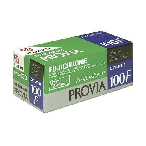 swiss pro pelicula diapositiva color 120 fuji provia 100 f pack 5