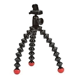swiss pro tripode mini joby gorillapod action con montura para gopro