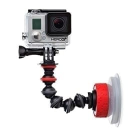 swiss pro tripode mini joby gorillapod suction cup arm negrorojo