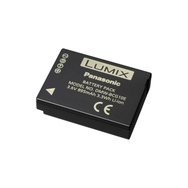 swisspro bateria bcg10e 3 6v 895mah 3 3wh panasonic