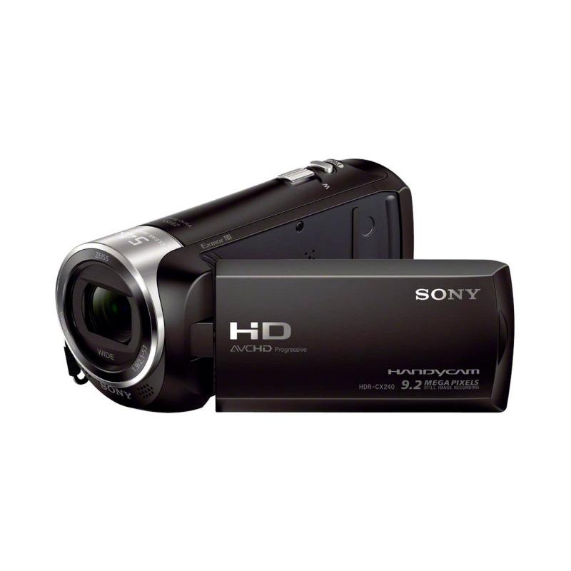 swisspro camara video sony handycam flash hdr cx240eb negra 0012 HDRCX240EB.CEN