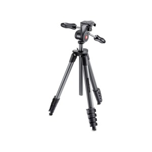 Trípode Manfrotto Compact Advance Negro