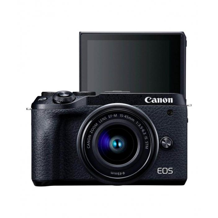swiss pro camara evil canon eos m6 mark ii ef m 15 45mm f3 5 6 3 is stm evf dc2 0003