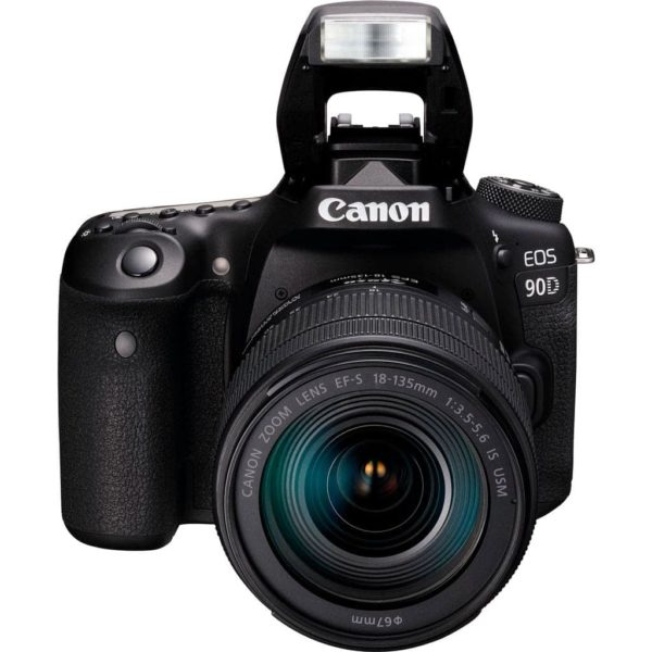 swiss pro camara reflex canon eos 90d ef s 18 135mm f3 5 5 6 is usm 1