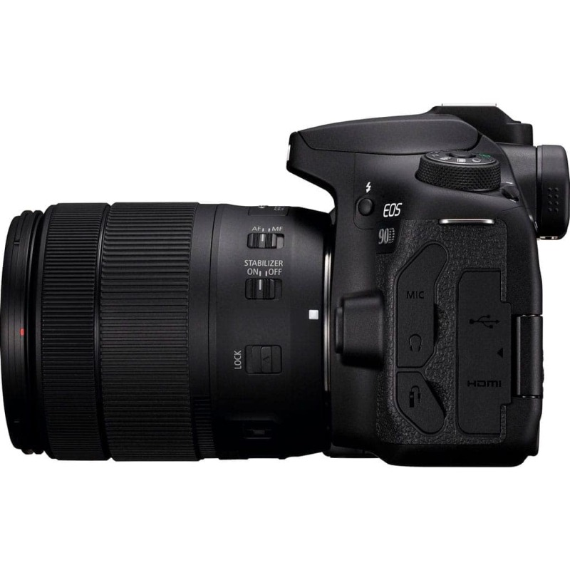 swiss pro camara reflex canon eos 90d ef s 18 135mm f3 5 5 6 is usm 2